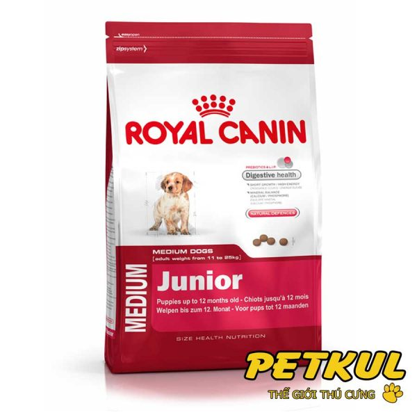 Royal canin – Medium Junior 10kg
